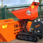 New Slanetrac Tracked Dumper Diesel track barrow